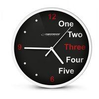 Esperanza  zegar ścienny prague biały darmowa dostawa do 400 salonów !! (5901299929940)