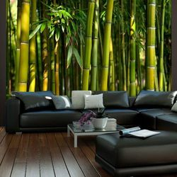 Fototapeta - Azjatycki las bambusowy, A0-LFTNT0090 (5703651)