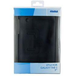 """Etui do tabletu 4World stand dla Galaxy Tab 2, Ultra Slim, 7"""", czarne 9123 Darmowy odbiór w 15 miastach!, kup u jednego z partnerów"""