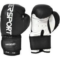 Rękawice bokserskie AXER SPORT A1344 Czarno-Biały (14 oz)