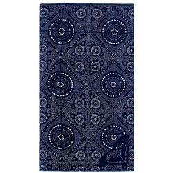 Ręcznik - hazy med blue shibori nights sw (bte2) rozmiar: os marki Roxy