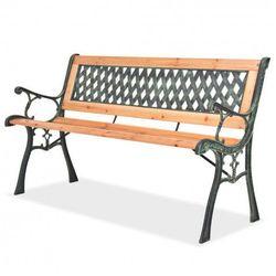 Producent: elior Drewniana ławka ogrodowa rosa 2x