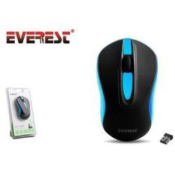 EVEREST DLM-380 Mouse Black/Blue z kategorii Myszy, trackballe i wskaźniki