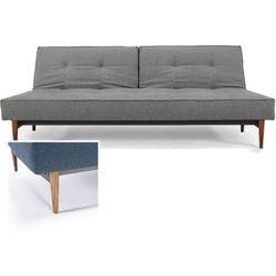 sofa splitback szara 216 nogi jasne drewno - 741010216-741007-10-1-6, marki Innovation istyle