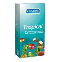 Tropical Flavours (1op./12 szt.) smakowe (antykoncepcja i erotyka)