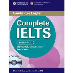 Complete IELTS Bands 4-5 Zeszyt Ćwiczeń Bez Odpowiedzi Plus Audio CD (ISBN 9781107602441)