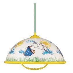Lampa wisząca AKRYL DZ 1xE27/60W Bocian/Niebieski z kategorii Oświetlenie dla dzieci