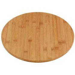 Bambusowa deska obrotowa do serów i przekąsek marki Eh excellent houseware