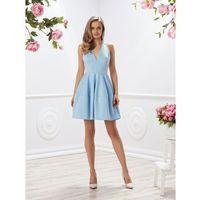 Sukienka Lozanna w kolorze błękitnym