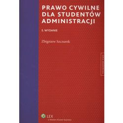 Prawo cywilne dla studentów administracji, książka w oprawie miękkej