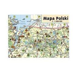 Mapa Polski Junior. Mapa Ścienna 1: 1 000 000 - produkt z kategorii- mapy