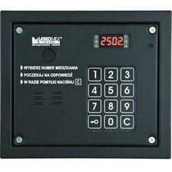 cp-2503r czarna panel audio z czytnikiem kluczy rfid marki Laskomex