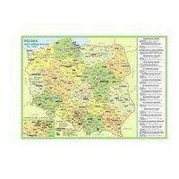 Podkładka na biurko Polska mapa administracyjna (9788376180625)