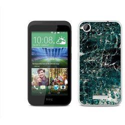 Fantastic Case - HTC Desire 320 - etui na telefon Fantastic Case - zielony marmur - sprawdź w wybranym sklepi