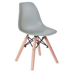 """Krzesło dziecięce """"paris kids"""" - szary marki Gockowiak"""