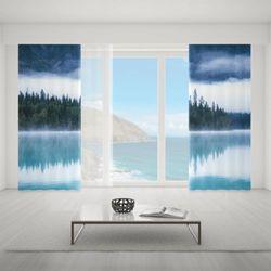 Zasłona okienna na wymiar komplet - MORNING FOG MYST