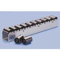 Ciężka listwa toczna z rolkami cylindrycznymi z tworzywa o Ø 46 mm, podział role