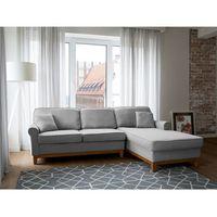 Beliani Narożnik jasnoszary - kanapa - sofa - narożna - wypoczynek - nexo, kategoria: narożniki