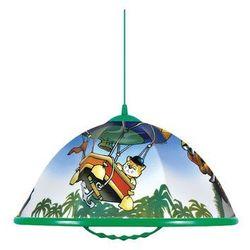 Lampa wisząca AKRYL DZ 1xE27/60W awanturnik/zielony z kategorii oświetlenie dla dzieci