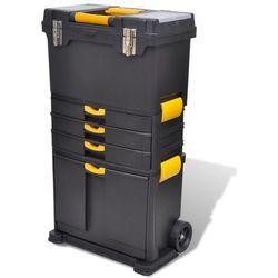 Vidaxl wózek na narzędzia skrzynia