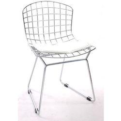 D2.design Krzesło dziecięce harry junior biała poduszka modern house bogata chata