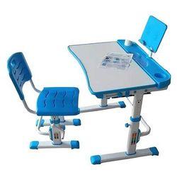 Unique CANDY niebieskie - Biurko dziecięce + krzesełko