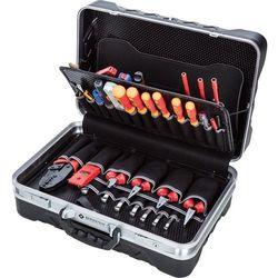 Walizka narzędziowa Bernstein 6750, 64 elementy, (DxSxW) 470 x 170 x 340 mm, Kolor: czarny, SERVICE KOFFER SECURITY