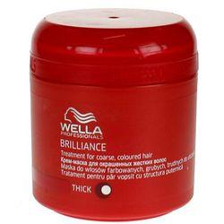Wella  brilliance - maska do grubych włosów farbowanych 150ml