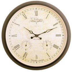 Zegar stacja pogodowa Nextime Wehlington 25 cm