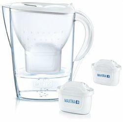 Dzbanek filtrujący BRITA Marella XL Biały + 2 wkłady Pure Performance, 1041678