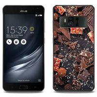 Foto Case - Asus Zenfone AR - etui na telefon Foto Case - kawałki czekolady, ETAS549FOTOFT053000