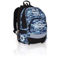Plecak szkolny  chi 754 d - blue od producenta Topgal