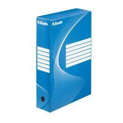 Pudło archiwizacyjne ESSELTE 80 mm niebieskie