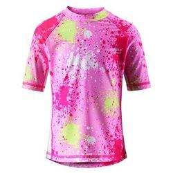 Koszulka Reima kąpielowa Fiji UV różowy/wzór, towar z kategorii: Pozostała moda i styl