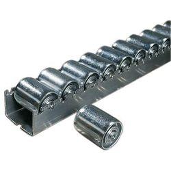 Unbekannt Ciężka listwa toczna ze stalowymi rolkami cylindrycznymi o Ø 45 mm, podział role