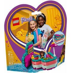 41384 pudełko przyjaźni andrei (andrea's summer heart box) klocki friends marki Lego