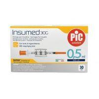 Astrana s.p. a. Strzykawki insulinowe insumed 0,5ml g30x8mm (30szt.)