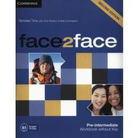 face2face Second Edition, Pre-intermediate, Workbook (zeszyt ćwiczeń) without Answer Key