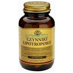 SOLGAR Czynniki Lipotropowe 50 tabletek, produkt z kategorii- Witaminy i minerały