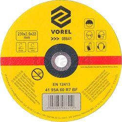 Vorel Tarcza do cięcia metalu 230x2,5x22 / 08641 /  - zyskaj rabat 30 zł (5906083086410)