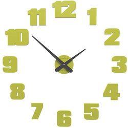 Zegar ścienny Raffaello CalleaDesign cedrowo-zielony, kolor zielony