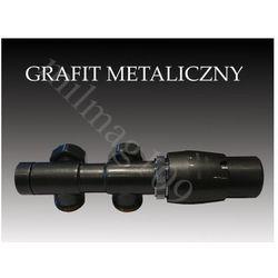 Zestaw zaworów grzejnikowych termostatycznych twins prawy grafit wyprodukowany przez Mera term