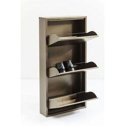 :: szafka na buty caruso brązowa 3 szuflady wyprodukowany przez Kare design