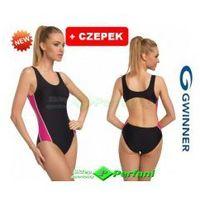 Wenda i strój pływacki kąpielowy klasyczny jednoczęściowy  + czepek | wysyłka 24h marki Gwinner