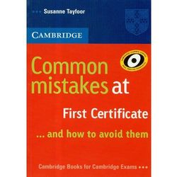 Cambridge Common Mistakes At First Certificate, rok wydania (2008)