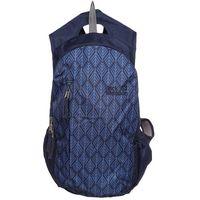 Jack Wolfskin ANCONA Plecak midnight blue geometric leaves (4055001396900)