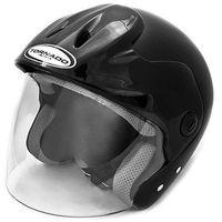 Kask motocyklowy TORNADO CL - CZARNY z kategorii kaski motocyklowe