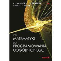 Od matematyki do programowania uogólnionego - Dostawa zamówienia do jednej ze 170 księgarni Matras za DARMO