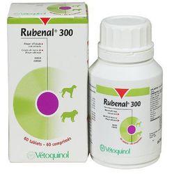 Vetoquinol Rubenal 300mg. Wspomagający funkcje nerek dla psów i kotów 20/60tabl., kup u jednego z partneró