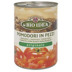 Pomidory krojone bez skóry BIO 6x400g- BIO IDEA z kategorii Przetwory warzywne i owocowe